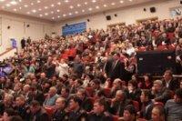 Отчетная встреча акима Карагандинской области Бауржана Абдишева